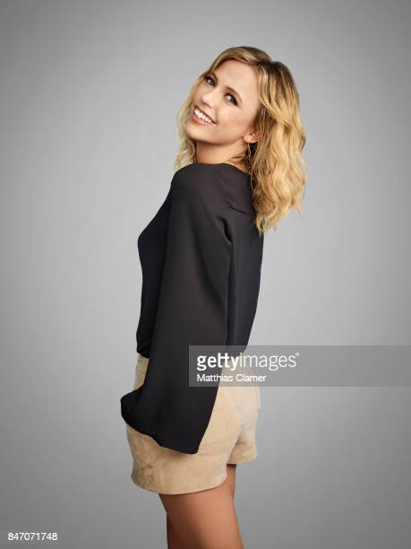 Actress Riley Voelkel from 'The Originals' is photographed for Entertainment Weekly Magazine on July 23 2016 at Comic Con in the Hard Rock Hotel in...