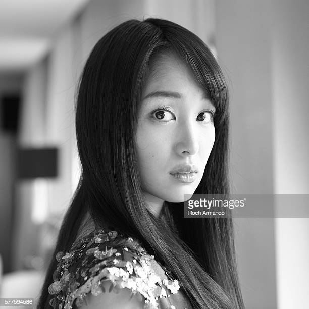 Actress Rin Takanashi is photographed for Self Assignment on May 21 2012 in Cannes France