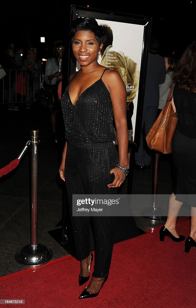 Actress Riqua Hailes arrives at the Los Angeles premiere of '12 Years A Slave' at Directors Guild Of America on October 14, 2013 in Los Angeles, California.