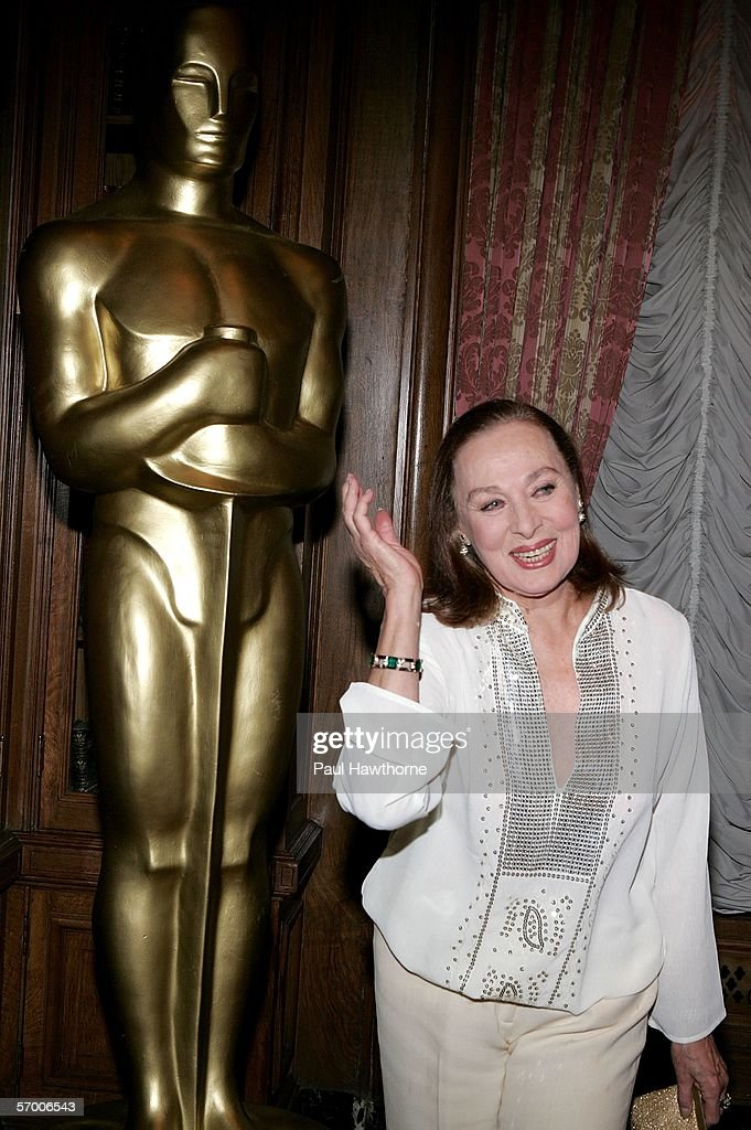Actress Rita Gam attends the Academy of Motion Picture Arts & Sciences New York Oscar Night Celebration at The St. Regis Hotel March 5, 2006 in New York City.