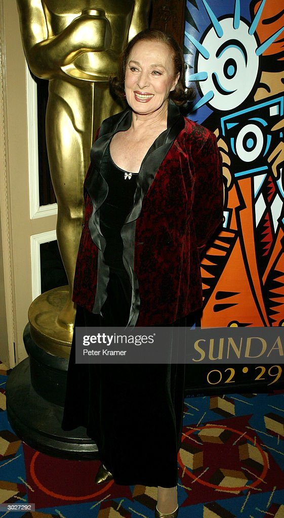 Actress Rita Gam attends the AMPAS Official Oscar Night Celebration at Le Cirque February 29, 2004 in New York City.