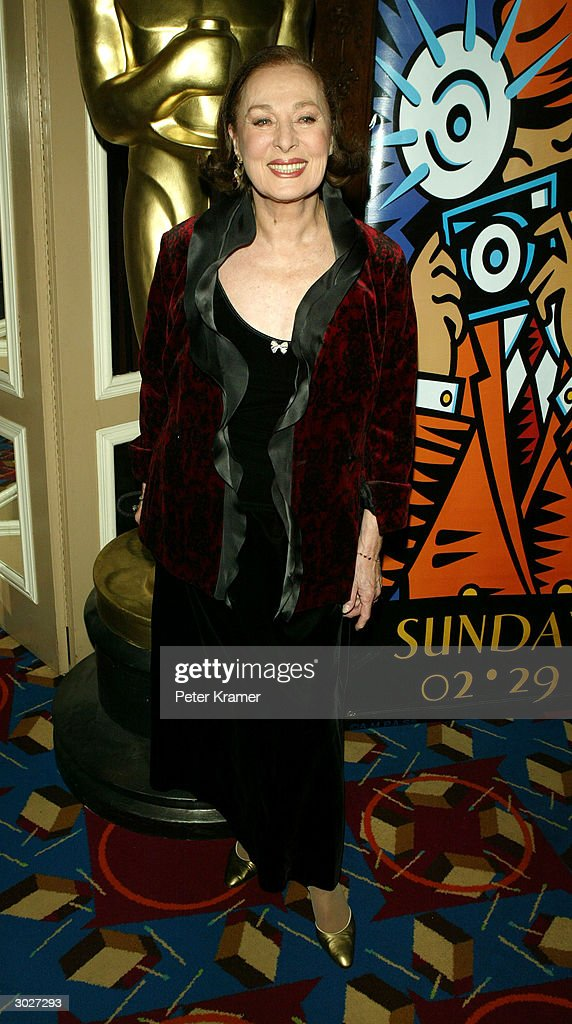 Actress <a gi-track='captionPersonalityLinkClicked' href=/galleries/search?phrase=Rita+Gam&family=editorial&specificpeople=235382 ng-click='$event.stopPropagation()'>Rita Gam</a> attends the AMPAS Official Oscar Night Celebration at Le Cirque February 29, 2004 in New York City.