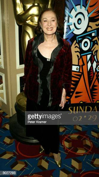 Actress Rita Gam attends the AMPAS Official Oscar Night Celebration at Le Cirque February 29 2004 in New York City