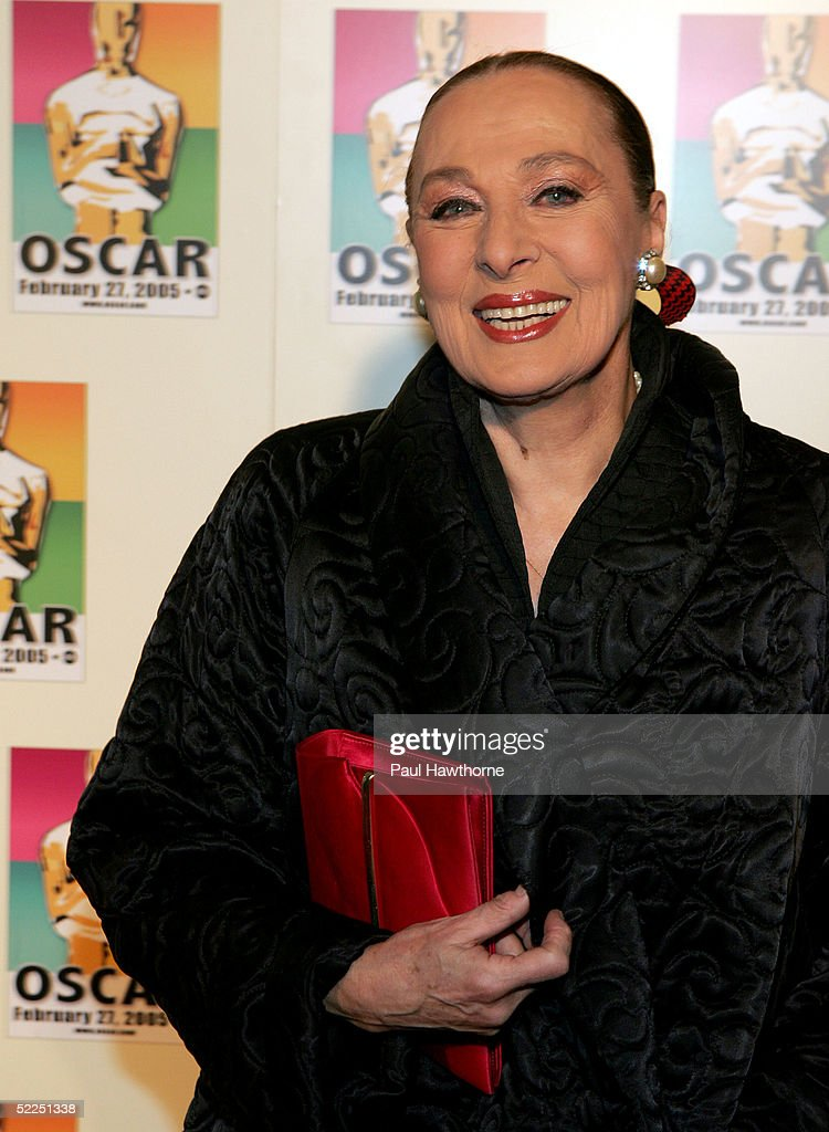 Actress Rita Gam attends the official New York celebration of the Academy Awards at Gabriel's February 27, 2005 in New York City.