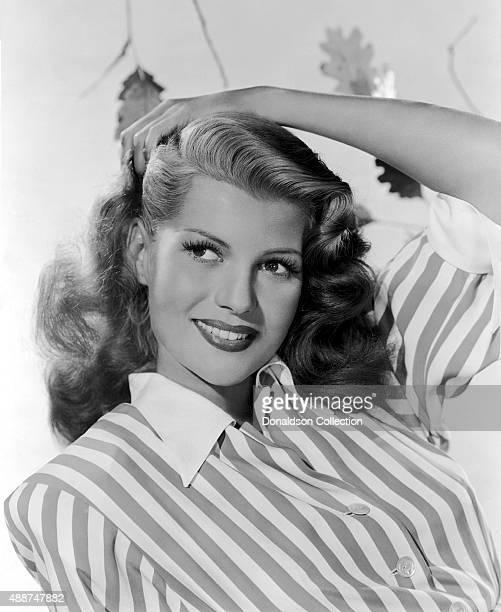 Actress Rita Hayworth poses for a publicity still circa 1942