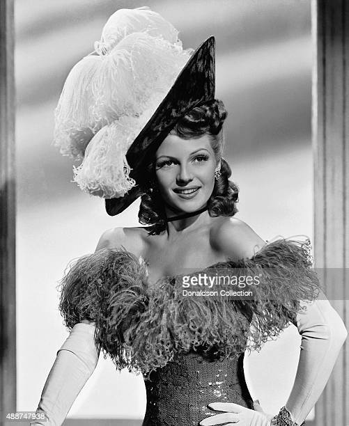 Actress Rita Hayworth poses for a publicity still for the 20th CenturyFox movie 'My Gal Sal' in 1942