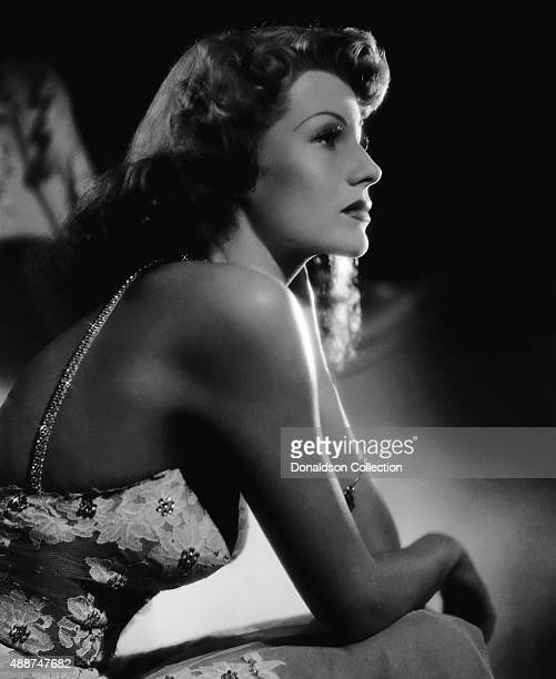 Actress Rita Hayworth poses for a publicity still for the Columbia Pictures movie 'You Were Never Lovelier' in 1942