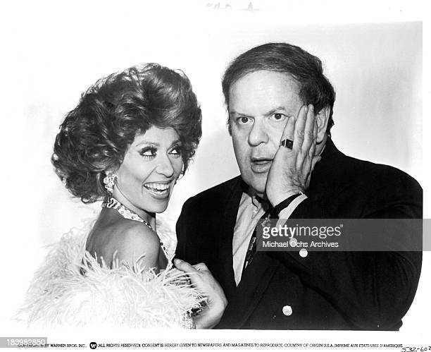 Actress Rita Moreno and actor Jack Weston pose for the Warner Bros movie'The Ritz' in 1976