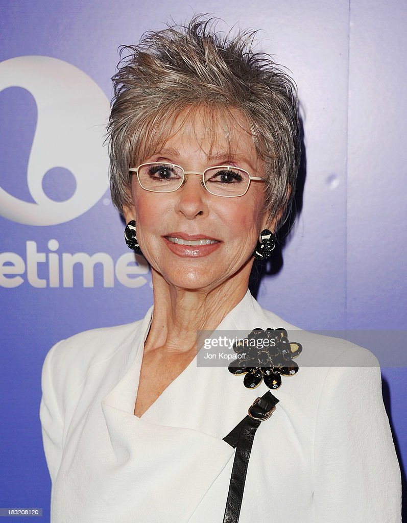 Actress Rita Moreno arrives at Variety's 5th Annual Power Of Women Event at the Beverly Wilshire Four Seasons Hotel on October 4, 2013 in Beverly Hills, California.