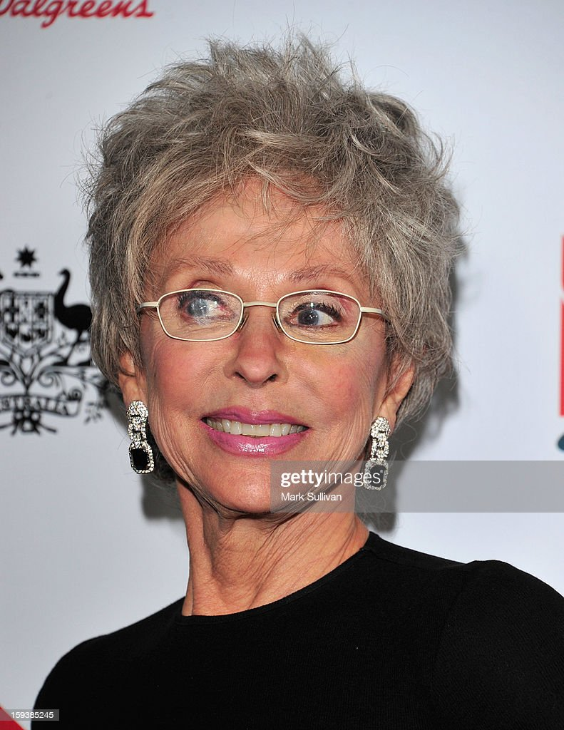 Actress Rita Moreno arrives for the G'Day USA Black Tie Gala held at at the JW Marriot at LA Live on January 12, 2013 in Los Angeles, California.