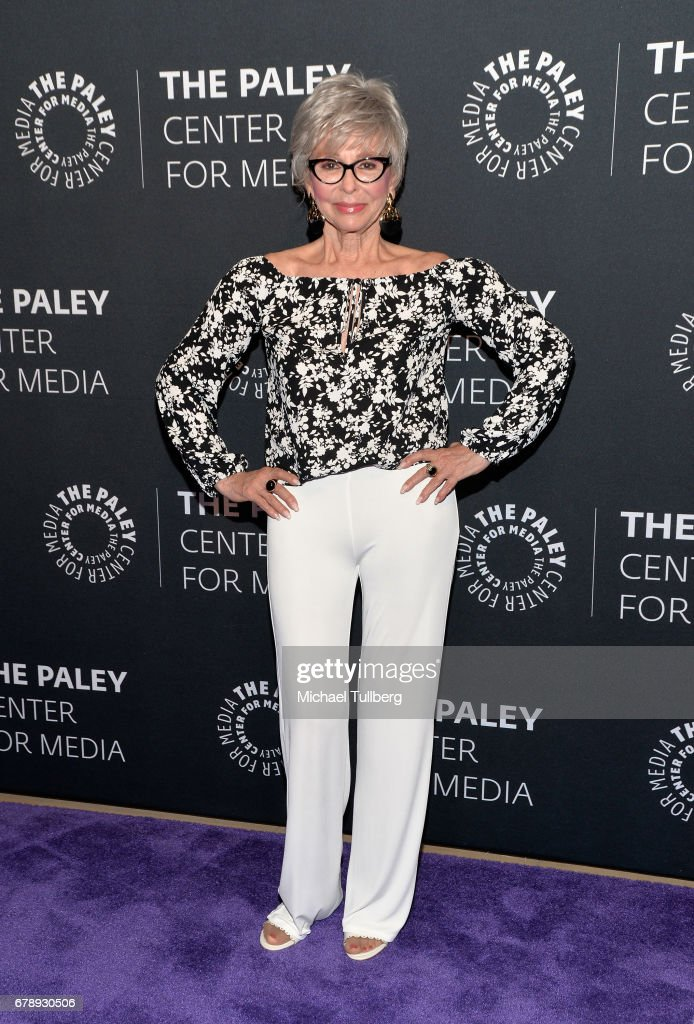 Actress Rita Moreno attends An Evening With 'One Day at a Time' as part of the 2017 PaleyLive LA Spring Season at The Paley Center for Media on May 4, 2017 in Beverly Hills, California.