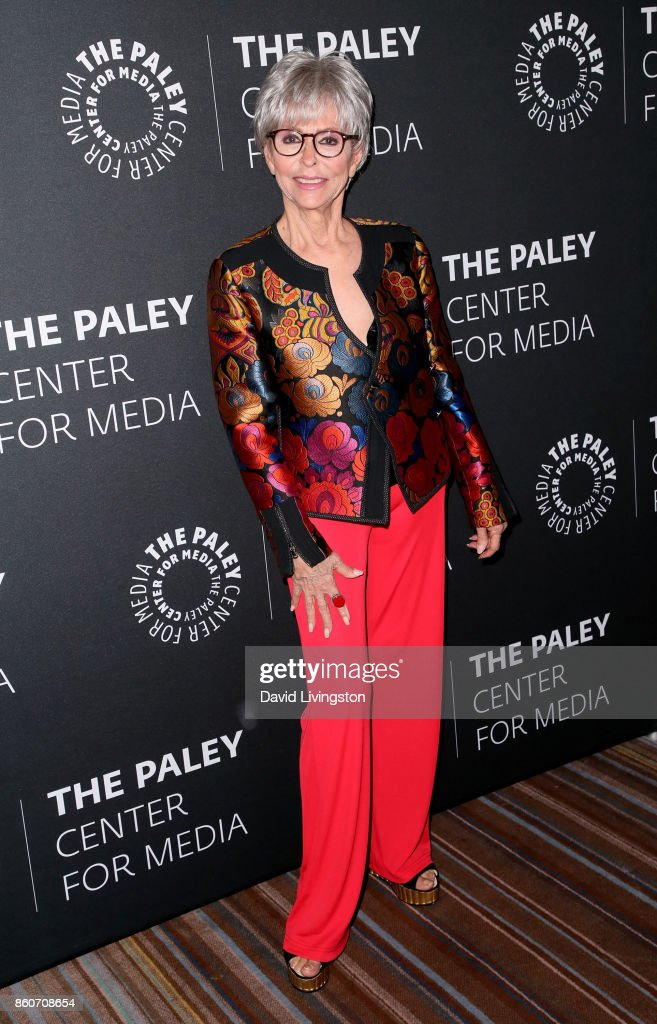 Actress Rita Moreno attends Paley Honors in Hollywood: A Gala Celebrating Women in Television at the Beverly Wilshire Four Seasons Hotel on October 12, 2017 in Beverly Hills, California.