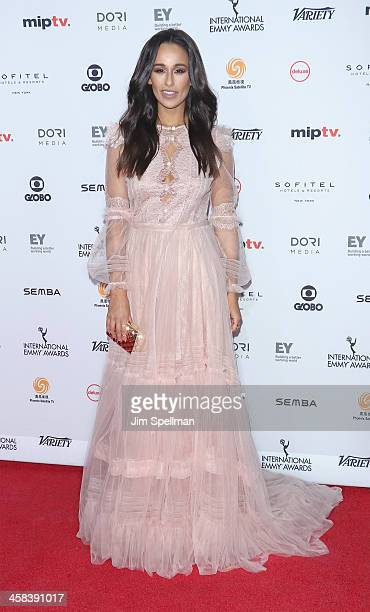 Actress Rita Pereira attends the 2016 International Emmy Awards at New York Hilton on November 21 2016 in New York City