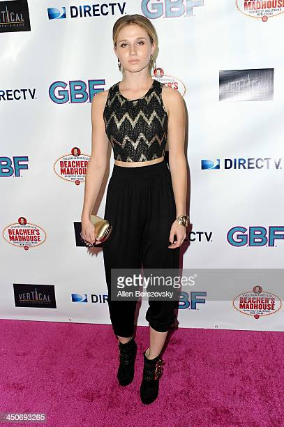 Actress Rita Volk arrives at the Los Angeles premiere of 'GBF' at Chinese 6 Theater in Hollywood on November 19 2013 in Hollywood California