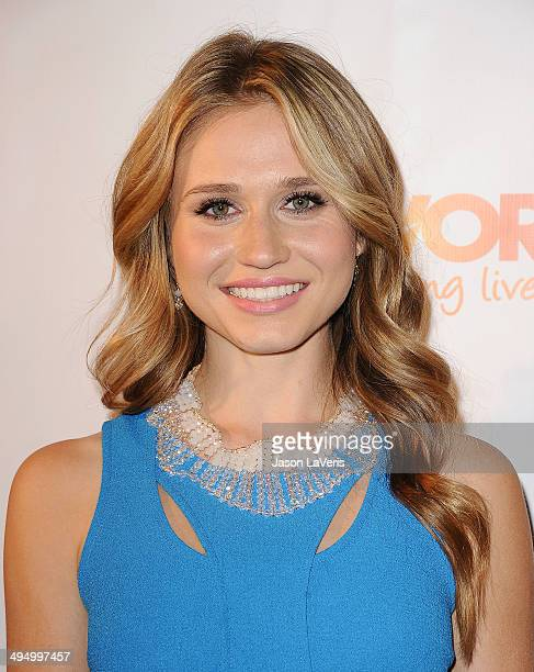 Actress Rita Volk attends Prom 2014 A Night Out For Trevor at Petersen Automotive Museum on May 31 2014 in Los Angeles California