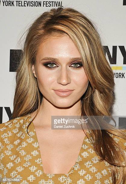 Actress Rita Volk attends the New York Television Festival panel 'Teenage Wasteland Navigating High School With The Next MTV Generation' featuring...