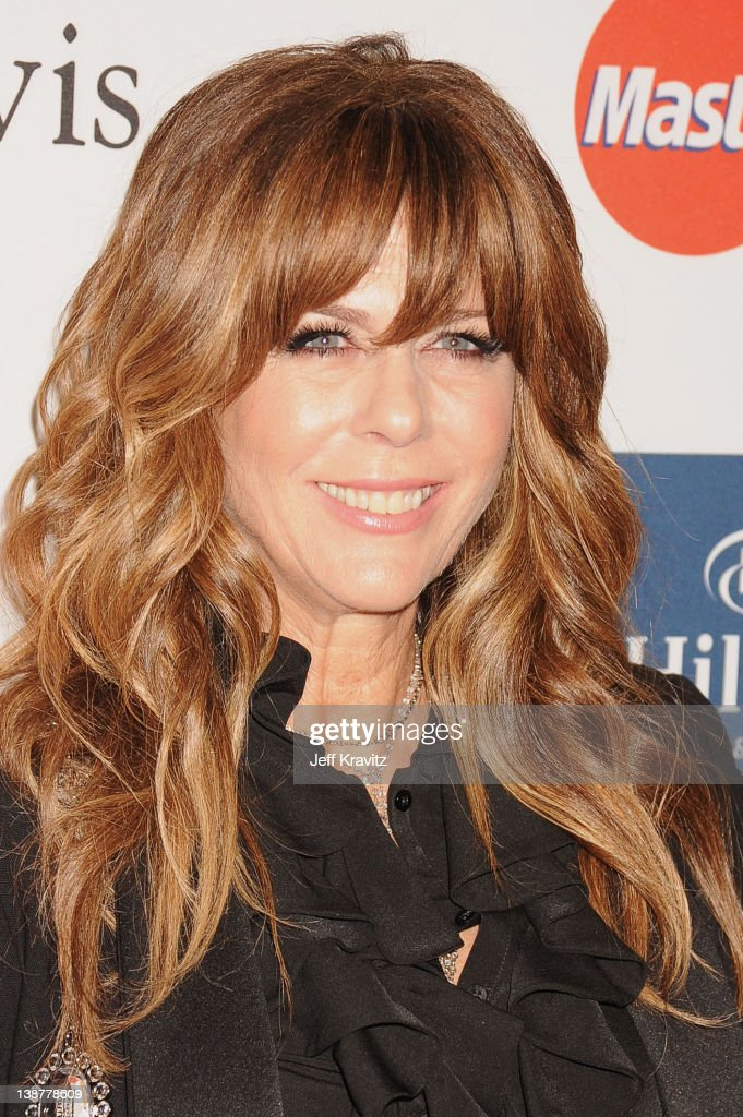 Actress <a gi-track='captionPersonalityLinkClicked' href=/galleries/search?phrase=Rita+Wilson+-+Actress&family=editorial&specificpeople=202642 ng-click='$event.stopPropagation()'>Rita Wilson</a> arrives at Clive Davis and the Recording Academy's 2012 Pre-GRAMMY Gala and Salute to Industry Icons Honoring Richard Branson held at The Beverly Hilton Hotel on February 11, 2012 in Beverly Hills, California.