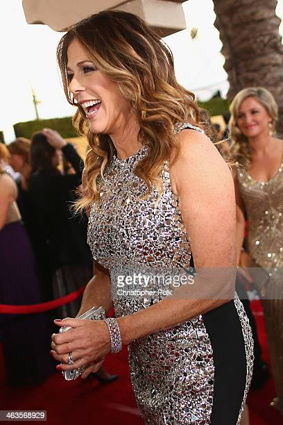 Actress Rita Wilson attends 20th Annual Screen Actors Guild Awards at The Shrine Auditorium on January 18 2014 in Los Angeles California