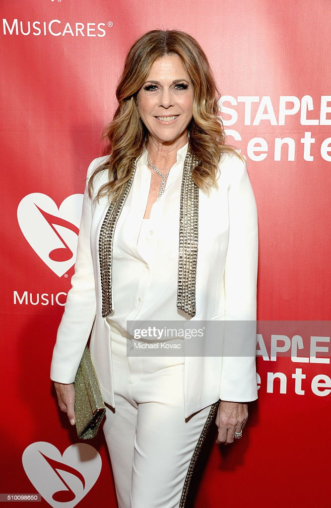 Actress Rita Wilson attends the 2016 MusiCares Person of the Year honoring Lionel Richie at the Los Angeles Convention Center on February 13, 2016 in Los Angeles, California.