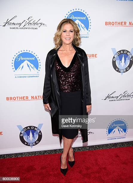 Actress Rita Wilson attends the 'Brother Nature' New York Premeire at Regal EWalk 13 on September 7 2016 in New York City