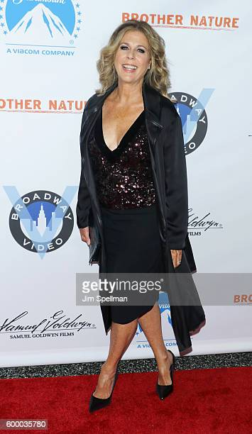 Actress Rita Wilson attends the 'Brother Nature' New York premiere at Regal EWalk 13 on September 7 2016 in New York City