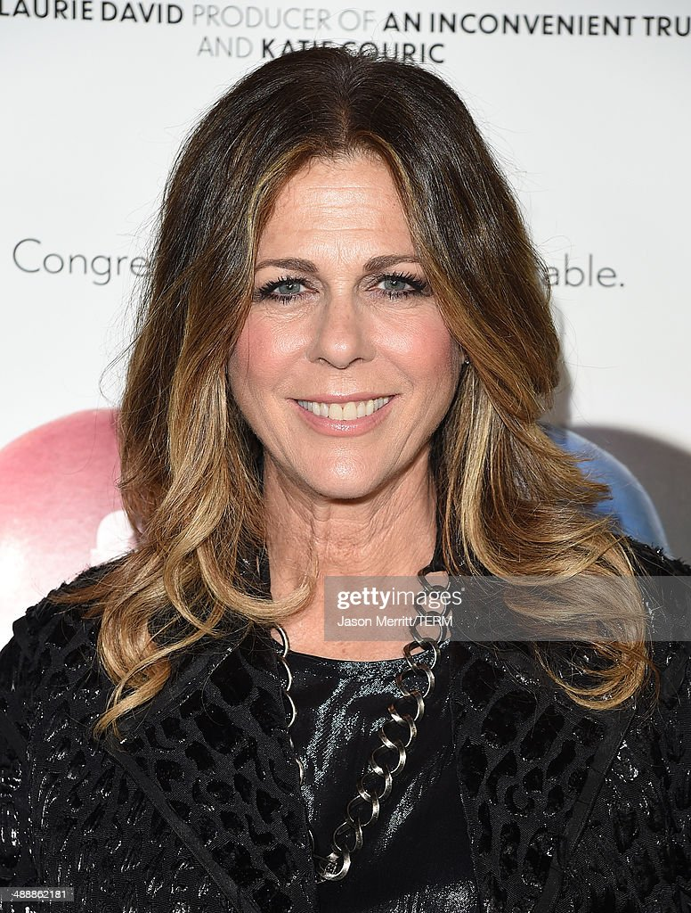 Actress <a gi-track='captionPersonalityLinkClicked' href=/galleries/search?phrase=Rita+Wilson+-+Actress&family=editorial&specificpeople=202642 ng-click='$event.stopPropagation()'>Rita Wilson</a> attends the 'Fed Up' premiere held at the Pacfic Design Center on May 8, 2014 in West Hollywood, California.