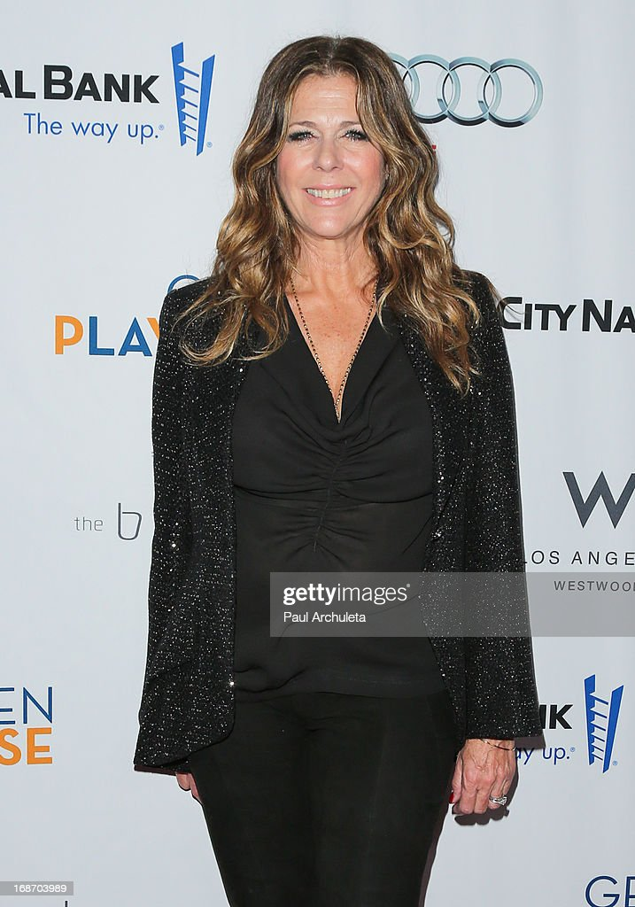 Actress Rita Wilson attends the Geffen annual fundraiser at the Geffen Playhouse on May 13, 2013 in Los Angeles, California.