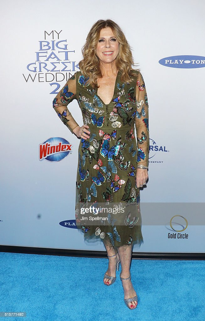 Actress Rita Wilson attends the 'My Big Fat Greek Wedding 2' New York premiere at AMC Loews Lincoln Square 13 theater on March 15, 2016 in New York City.