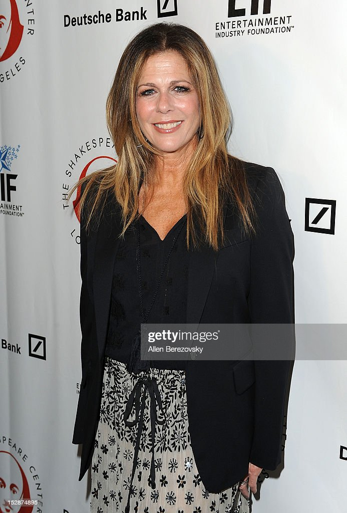 Actress Rita Wilson attends the Shakespeare Center of Los Angeles' 22nd annual 'Simply Shakespeare' reading of 'A Midsummer Night's Dream' at Freud Playhouse, UCLA on September 27, 2012 in Westwood, California.