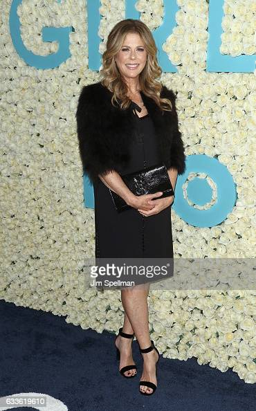 Actress Rita Wilson attends the the New York premiere of the sixth and final season of 'Girls' at Alice Tully Hall Lincoln Center on February 2 2017...