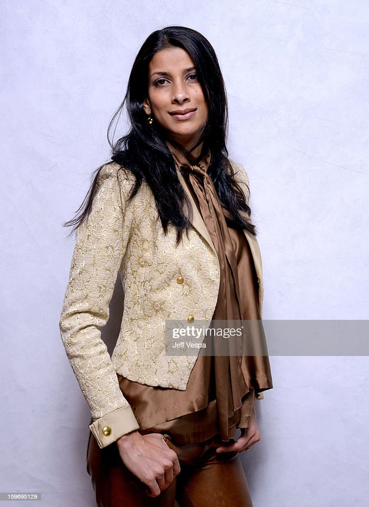 Actress Ritu Singh Pande poses for a portrait during the 2013 Sundance Film Festival at the WireImage Portrait Studio at Village At The Lift on January 18, 2013 in Park City, Utah.