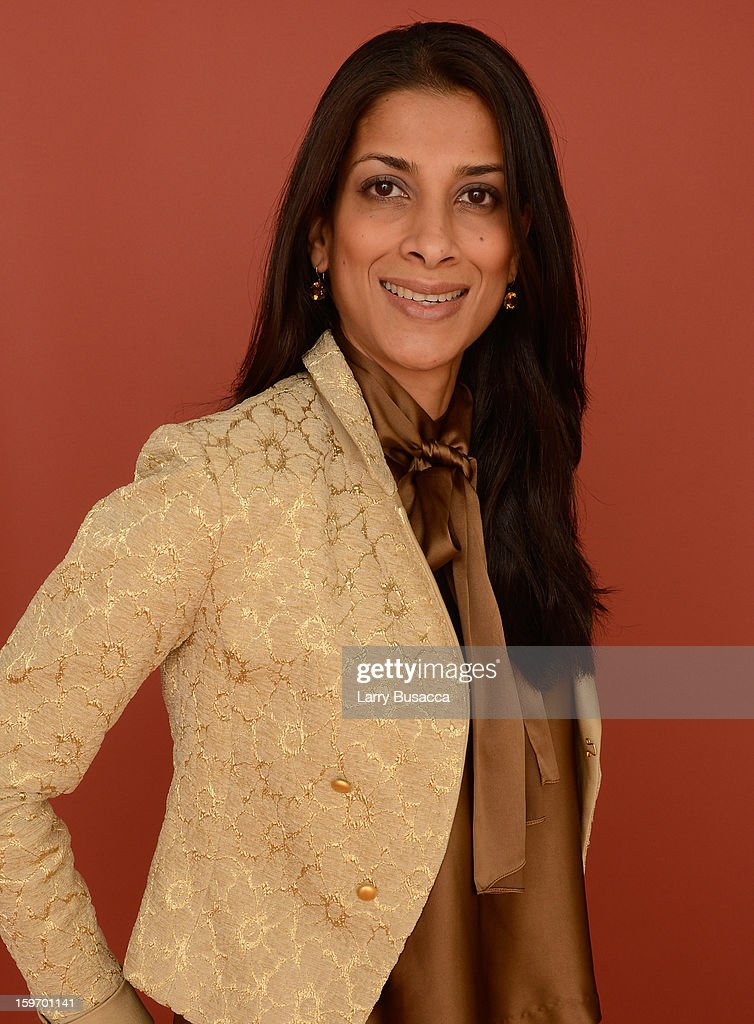 Actress Ritu Singh Pande poses for a portrait during the 2013 Sundance Film Festival at the Getty Images Portrait Studio at Village at the Lift on January 18, 2013 in Park City, Utah.