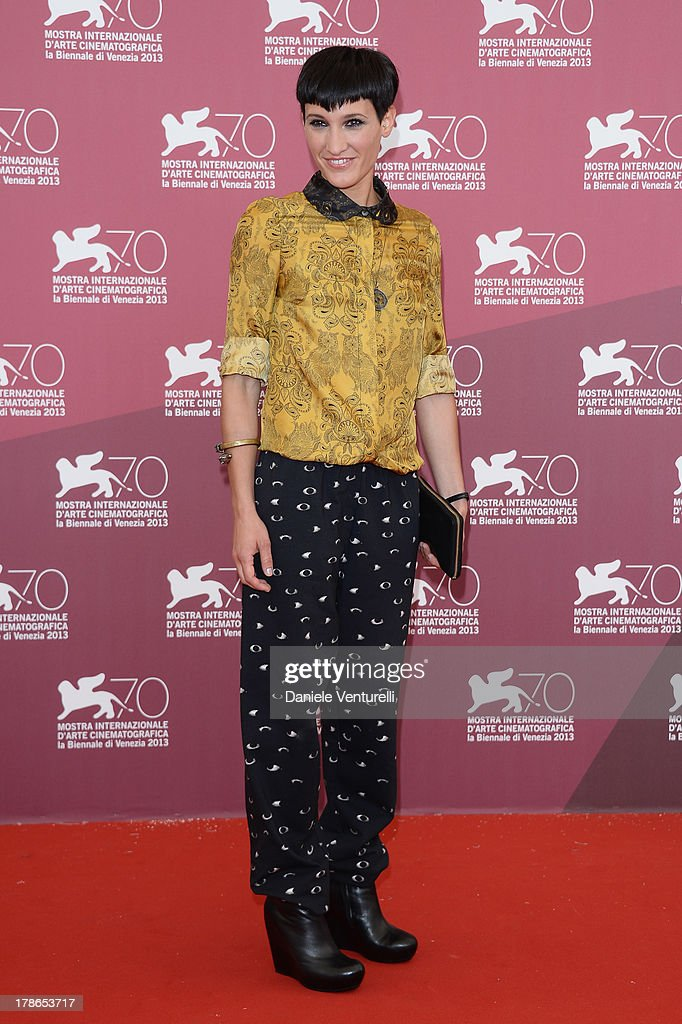 Actress <a gi-track='captionPersonalityLinkClicked' href=/galleries/search?phrase=Roberta+Da+Soller&family=editorial&specificpeople=11314461 ng-click='$event.stopPropagation()'>Roberta Da Soller</a> attends 'Piccola Patria' Photocall during The 70th Venice International Film Festival at Palazzo del Casino on August 30, 2013 in Venice, Italy.