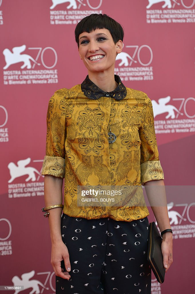 Actress Roberta Da Soller poses during the photocall of 'Piccola Patria' presented in the Orizzonti selection at the 70th Venice Film Festival on August 30, 2013 at Venice Lido.