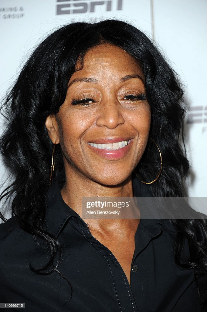 Actress Robi ReedHumes arrives at the Premiere Of ESPN Films' 'The Announcement' at Regal Cinemas LA Live on March 6 2012 in Los Angeles California