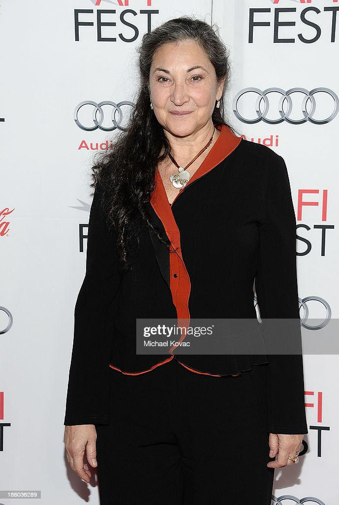 Actress Robin Bartlett attends the AFI FEST 2013 presented by Audi closing night gala screening of 'Inside Llewyn Davis' at TCL Chinese Theatre on November 14, 2013 in Hollywood, California.
