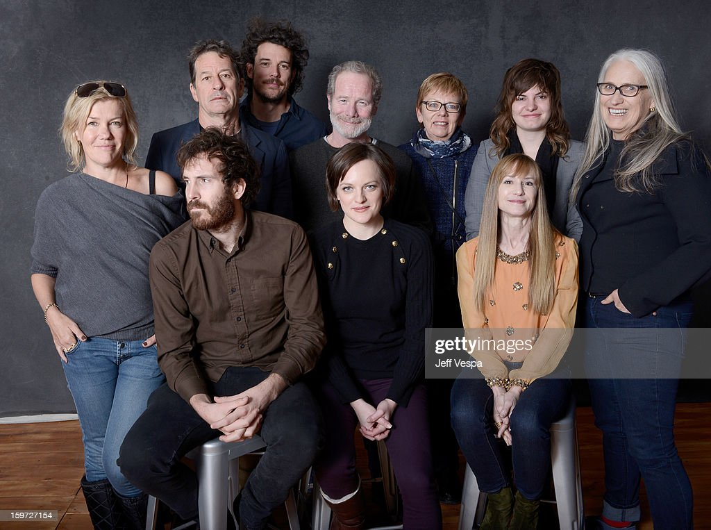 Actress Robin Malcolm, writer Gerard Lee, filmmaker Garth Davis, actor <a gi-track='captionPersonalityLinkClicked' href=/galleries/search?phrase=Peter+Mullan&family=editorial&specificpeople=533010 ng-click='$event.stopPropagation()'>Peter Mullan</a>, producer Philippa Campbell, musician Georgi Kay, filmmaker <a gi-track='captionPersonalityLinkClicked' href=/galleries/search?phrase=Jane+Campion&family=editorial&specificpeople=616530 ng-click='$event.stopPropagation()'>Jane Campion</a>, actors Thomas M. Wright, <a gi-track='captionPersonalityLinkClicked' href=/galleries/search?phrase=Elisabeth+Moss&family=editorial&specificpeople=3079265 ng-click='$event.stopPropagation()'>Elisabeth Moss</a>, and <a gi-track='captionPersonalityLinkClicked' href=/galleries/search?phrase=Holly+Hunter&family=editorial&specificpeople=201880 ng-click='$event.stopPropagation()'>Holly Hunter</a> pose for a portrait during the 2013 Sundance Film Festival at the WireImage Portrait Studio at Village At The Lift on January 19, 2013 in Park City, Utah.