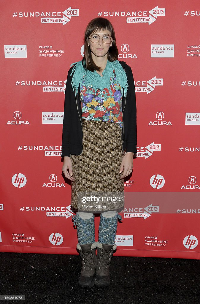 Actress Robin Schwartz attends 'Computer Chess' Premiere - 2013 Sundance Film Festival at Library Center Theater on January 21, 2013 in Park City, Utah.