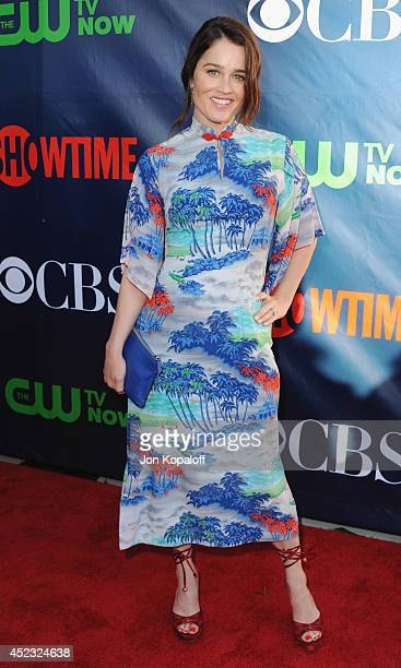 Actress Robin Tunney arrives at the CBS The CW Showtime CBS Television Distribution 2014 Television Critics Association Summer Press Tour at Pacific...