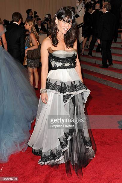 Actress Robin Tunney attends the Costume Institute Gala Benefit to celebrate the opening of the 'American Woman Fashioning a National Identity'...