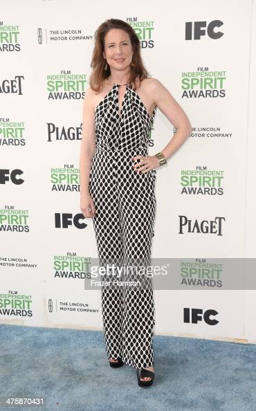 Actress Robin Weigert attends the 2014 Film Independent Spirit Awards at Santa Monica Beach on March 1 2014 in Santa Monica California