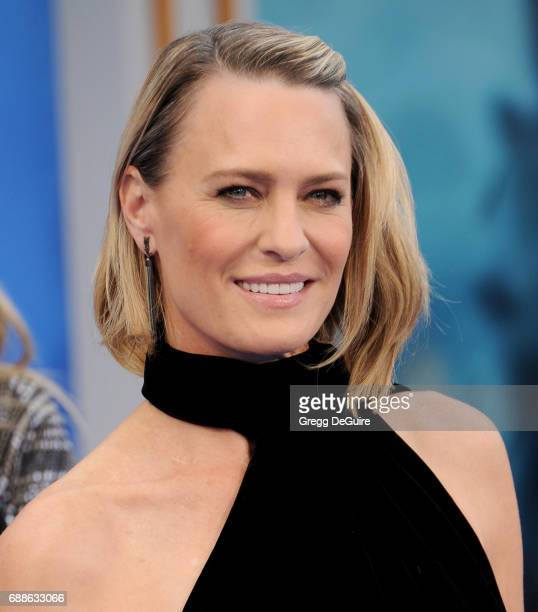 Actress Robin Wright arrives at the premiere of Warner Bros Pictures' 'Wonder Woman' at the Pantages Theatre on May 25 2017 in Hollywood California