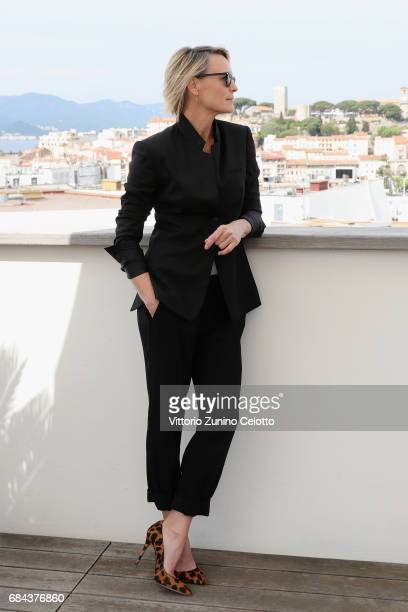 Actress Robin Wright attends Kering Talks Women In Motion At The 70th Cannes Film Festival at Hotel Majestic on May 18 2017 in Cannes France