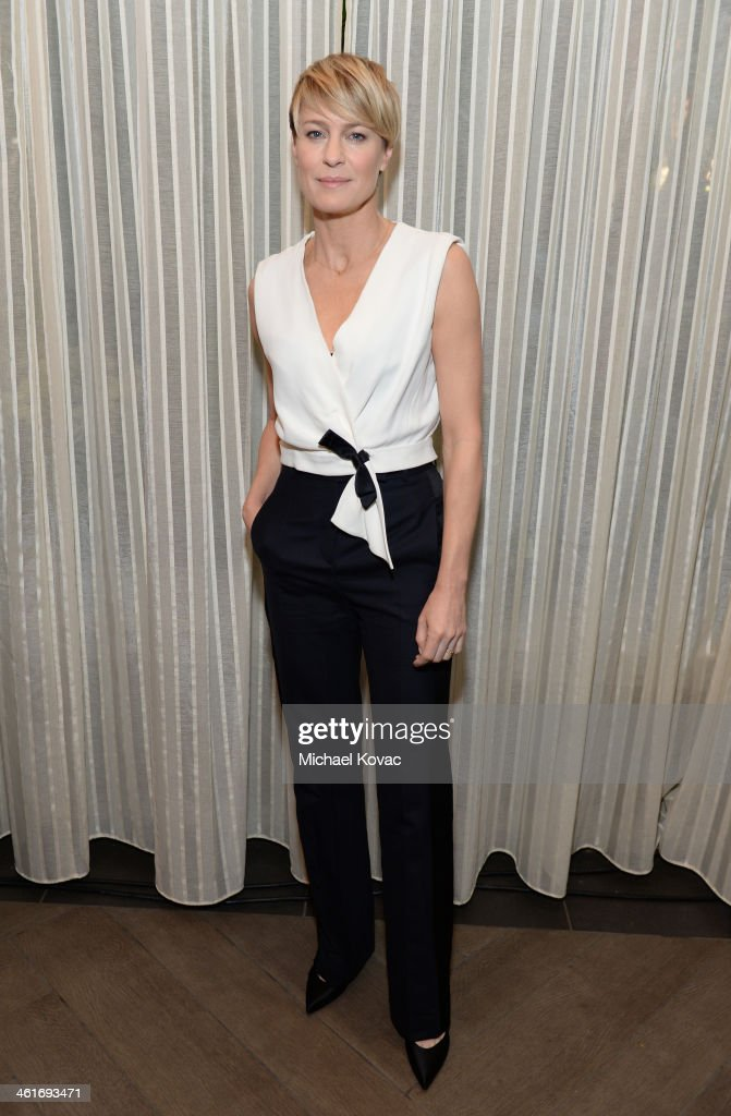 Actress Robin Wright attends the 14th annual AFI Awards Luncheon at the Four Seasons Hotel Beverly Hills on January 10, 2014 in Beverly Hills, California.