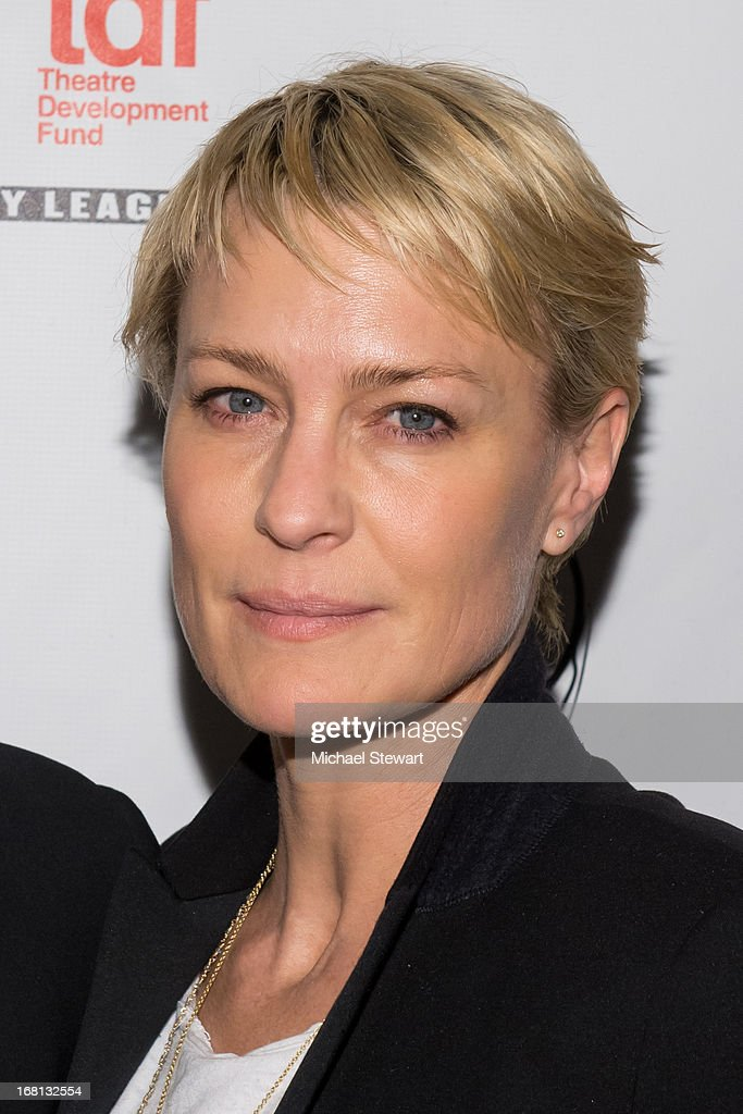 Actress Robin Wright attends the 2013 Lucille Lortel Awards at Jack H. Skirball Center for the Performing Arts on May 5, 2013 in New York City.