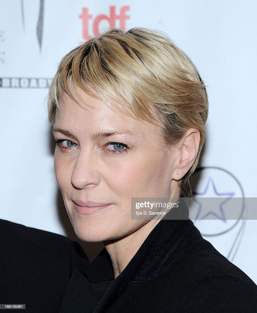 Actress Robin Wright attends the 28th Annual Lucille Lortel Awards at NYU Skirball Center on May 5, 2013 in New York City.