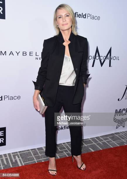 Actress Robin Wright attends the Daily Front Row's Fashion Media Awards at Four Seasons Hotel New York Downtown on September 8 2017 in New York City