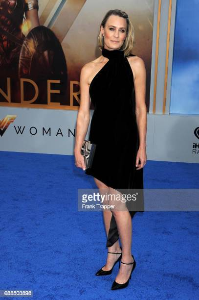 Actress Robin Wright attends the premiere of Warner Bros Pictures ''Wonder Woman' at the Pantages Theatre on May 25 2017 in Hollywood California