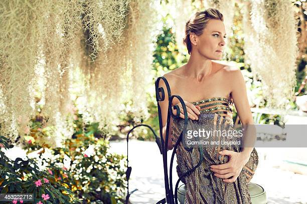 Actress Robin Wright is photographed for American Way Magazine on October 1 2012 in Los Angeles California