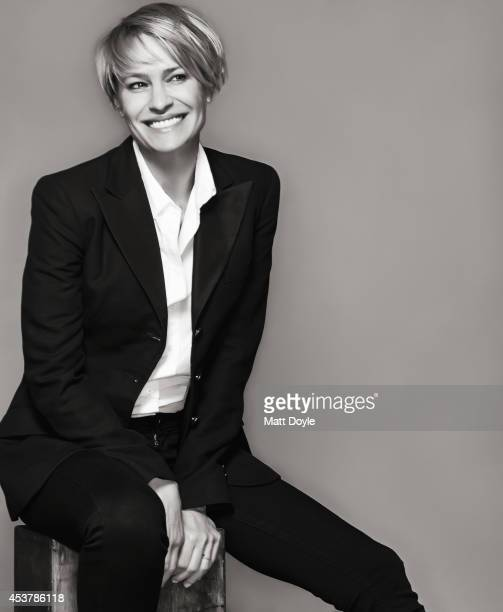Actress Robin Wright is photographed for Back Stage Magazine on July 23 in New York City PUBLISHED IMAGE
